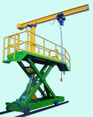 New Mobile Lift With Piggyback Jib