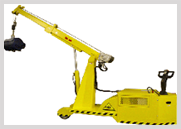 Reversible Boom Crane