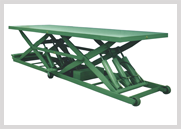 Tandem Scissors Lift Table