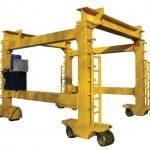 Tele-Mast Straddle Crane