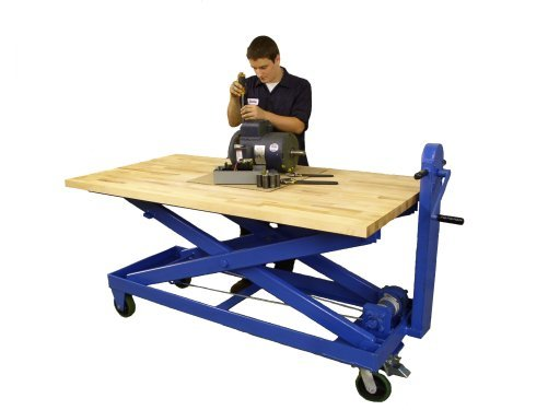 Mechanical Lift Table Workstation