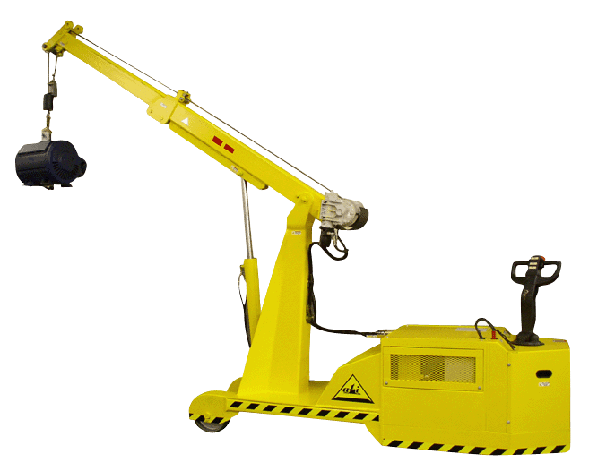 Portable Hydraulic Jib Crane : Cranes products and accessories air technical industries
