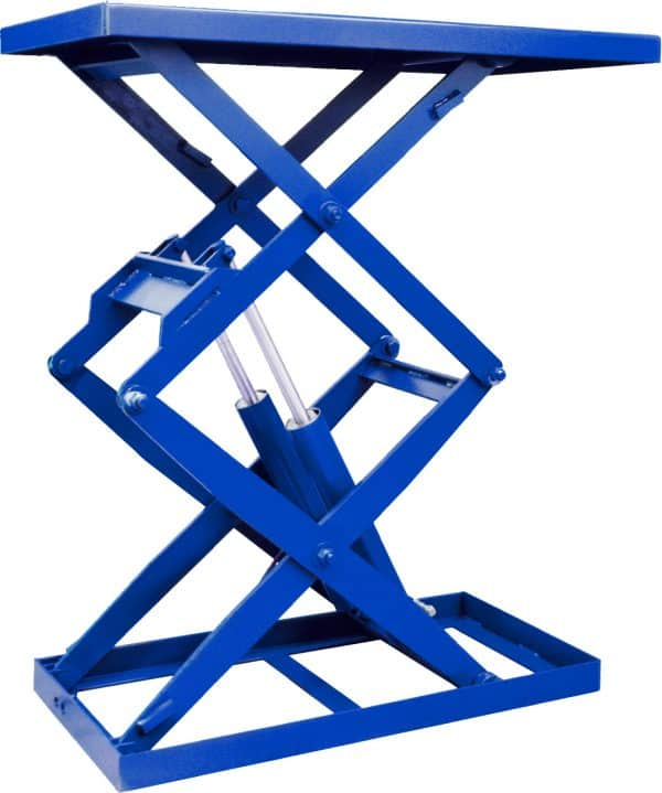 Double Scissors Lift Table